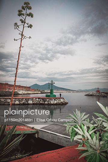 Der Hafen von Neapel - p1150m2014691 von Elise Ortiou Campion