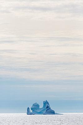 Majestic iceberg formation on Atlantic Ocean Greenland - p1023m2161519 by Martin Barraud