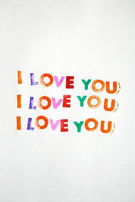 I love you - p1028m899190 von Jean Marmeisse