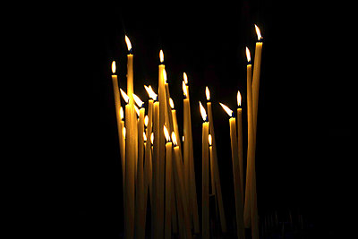 Candles - p162m925789 by Beate Bussenius