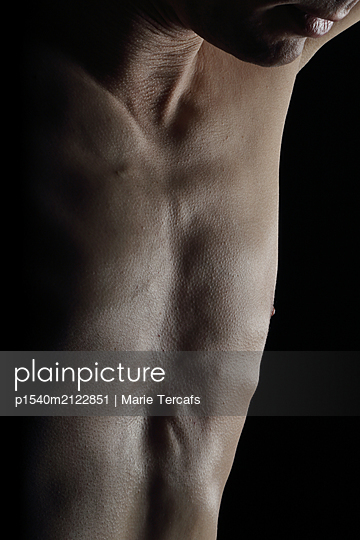 Male nude - p1540m2122851 by Marie Tercafs