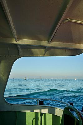 Ferry traffic in Venice - p1312m1575227 by Axel Killian