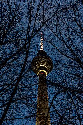 Fernsehturm - p1611m2184067 von Bernd Lucka