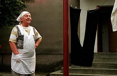 Housewife - p0750054 by Lukasz Chrobok