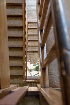 Staircase, Vellexon castle, France - p335m2177681 by Andreas Körner