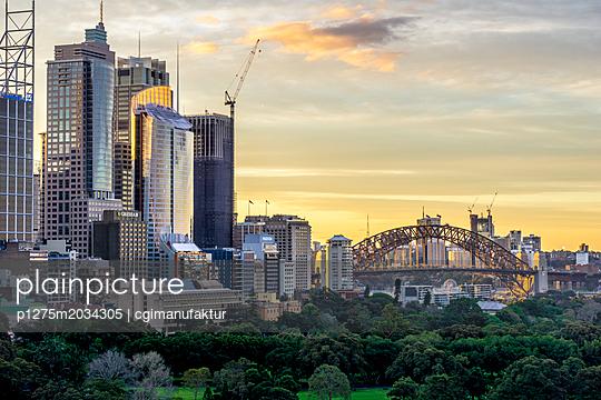 Sydney Harbour Bridge - p1275m2034305 von cgimanufaktur