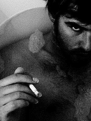 bad boy - p627m671972 by Jane Viola Lˆczi