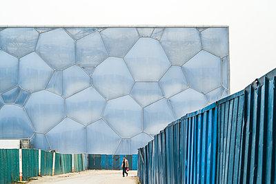 Schwimmstadion Beijing - p1202m1061294 von Jörg Schwalfenberg