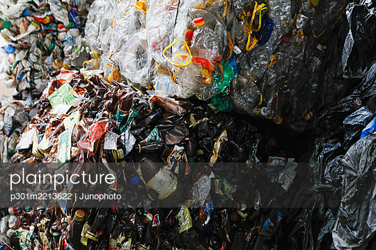 Recycled bottle bundles - p301m2213622 by Junophoto