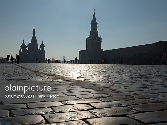 Moscov, Red sqaure - p390m2109323 by Frank Herfort