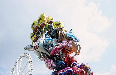 Bunte Ballons - p0450934 von Jasmin Sander