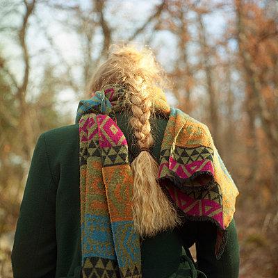 Blond braid - p1160m951359 by Emilie Reynaud