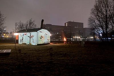 Slideshow at night - p347m1138357 by Georg Kühn