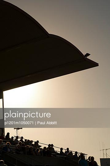 Stadium - p1201m1050071 by Paul Abbitt