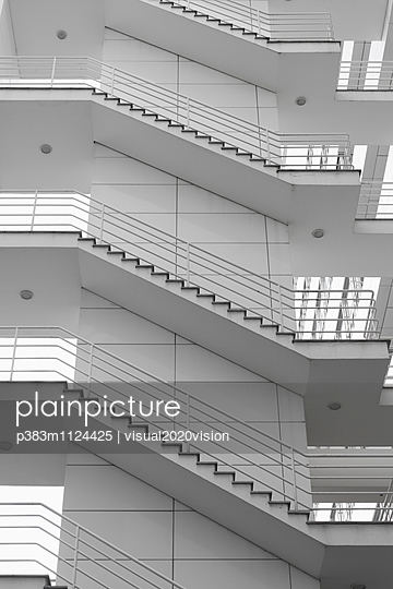 Staircase - p383m1124425 by visual2020vision
