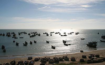 Fischer in Vietnam - p1620045 von Beate Bussenius