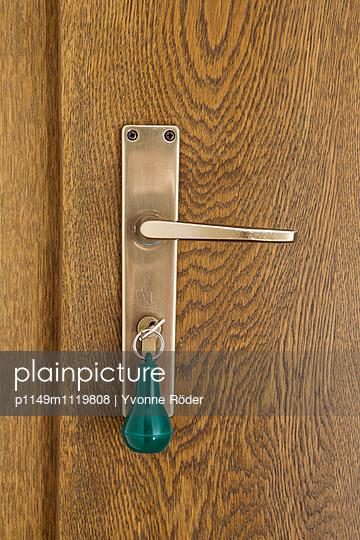 Hotelzimmer und Schlüssel - p1149m1119808 von Yvonne Röder