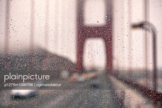 Golden Gate Bridge - p1275m1090706 von cgimanufaktur