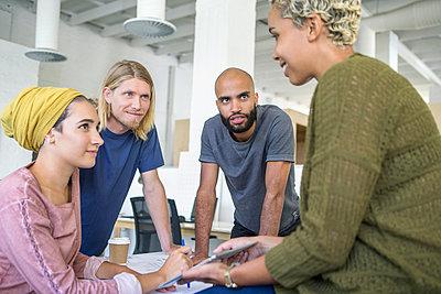 Startup Team zusammen - p1156m1572860 von miep