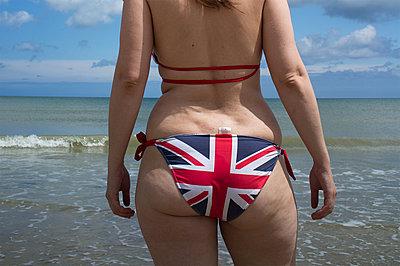 Engländerin am Meer - p1096m1040714 von Rajkumar Singh
