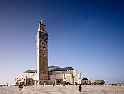 Hassan II Moschee - p1209m1017136 von Guido Erbring