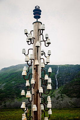 Insulator sculpture - p382m2254527 by Anna Matzen
