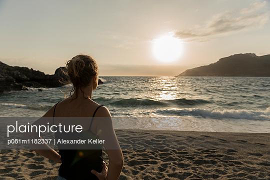 Abendstimmung auf Kreta - p081m1182337 von Alexander Keller