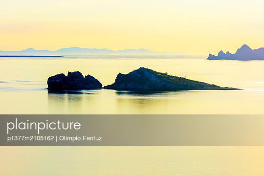 Mexico, Baja California Sur, Loreto, Gulf of California, Sea of Cortez, Mirador Frida along Highway 1 - p1377m2105162 by Olimpio Fantuz