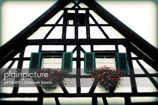 Fachwerkhaus - p3180405 von Christoph Eberle