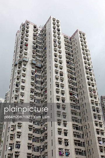 Social housing in Hong Kong - p664m2087192 by Yom Lam
