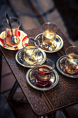 Tea glasses - p1062m871885 by Viviana Falcomer