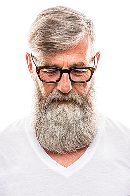 Man with beard - p890m912054 by Mielek