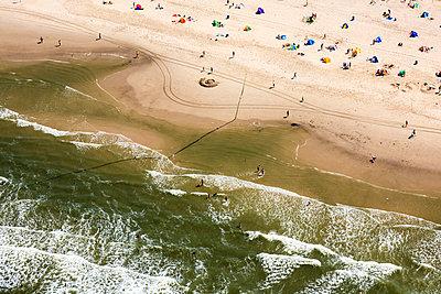 Beach at the North Sea - p1120m925620 by Siebe Swart