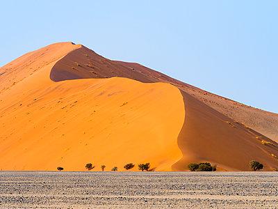 Africa, Namibia, Namib desert, Naukluft National Park, Sossusvlei, Dune 45 - p300m1568378 von Roy Jankowski