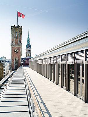 Alte Post am Bleichenfleet, Hamburg - p1493m1584655 von Alexander Mertsch