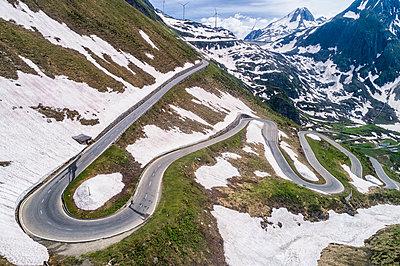 Switzerland, Valais, Nufenen Pass - p300m2013059 by Stefan Schurr