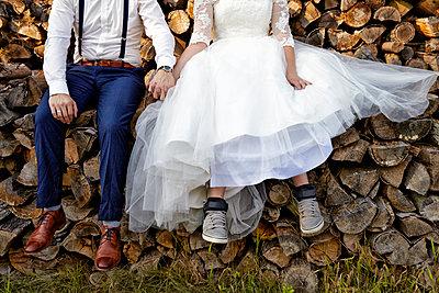 Brautpaar - p1146m1091119 von Stephanie Uhlenbrock