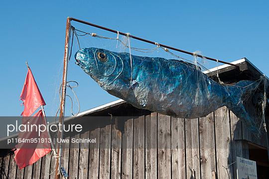 Fischwerbung - p1164m951913 von Uwe Schinkel