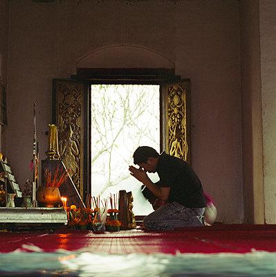 Tempel, Thailand - p913m933825 von LPF