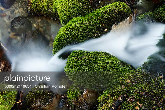Brook in Patagonia, Santa Cruz, Patagonia, Argentina - p300m2118634 by Christian Vorhofer