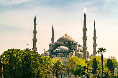 Sultan Ahmed III mosque  - p1332m1502677 by Tamboly