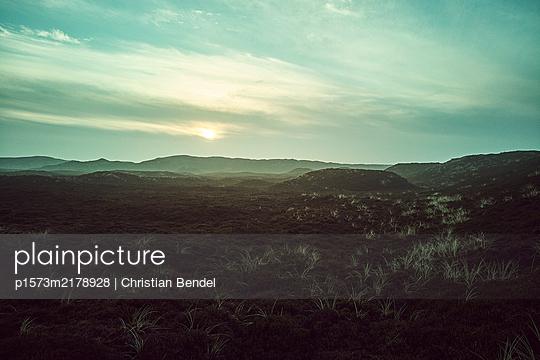 Sunrise in the dunes - p1573m2178928 by Christian Bendel