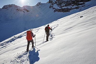 Schneeschuhwandern - p1272m1084103 von Steffen Scheyhing