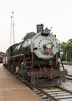 Train in Tennessee - p343m1060748 by Stephen DeVries