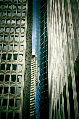 Buildings, La Defense, Paris - p445m1040053 by Marie Docher