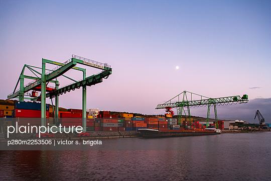 Container Terminal - p280m2253506 by victor s. brigola