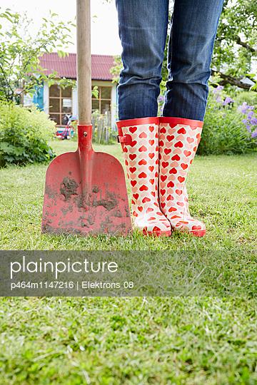 Gartenzeit - p464m1147216 von Elektrons 08