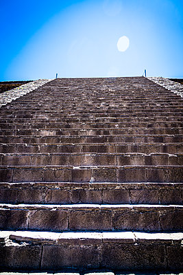 Temple of the Feathered Serpent, Teotihuacan, Mexico - p1170m1573349 by Bjanka Kadic