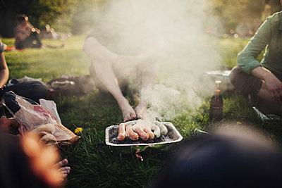 Sausage and smoke - p1184m963205 by brabanski