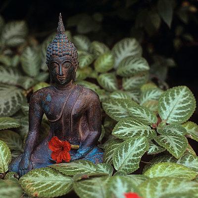 Kleiner Buddha - p7280058 von Peter Nitsch